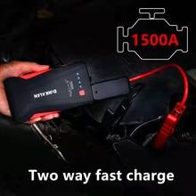 GKFLY High Power 1500A Ausgangs Gerät 12V Tragbare Auto Starthilfe Power Bank Auto Ladegerät Für Auto Batterie Booster buster LED