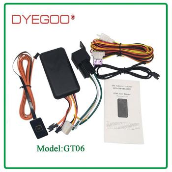 Car gps tracker high speed platform with free shipping GT06 image