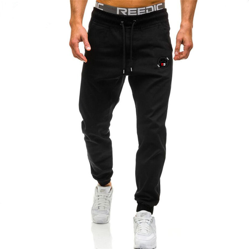 New Spring Autumn Brand Gyms Men Joggers Sweatpants Men's Joggers Trousers Sporting Clothing The High Quality Bodybuilding Pants 5