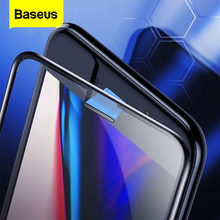 Baseus 0.3mm Della Polvere a prova di Protezione Dello Schermo In Vetro Temperato Per il iPhone 8 7 6 6s S Plus 7 più di 8 Più Copertura Completa di Protezione di Vetro Pellicola