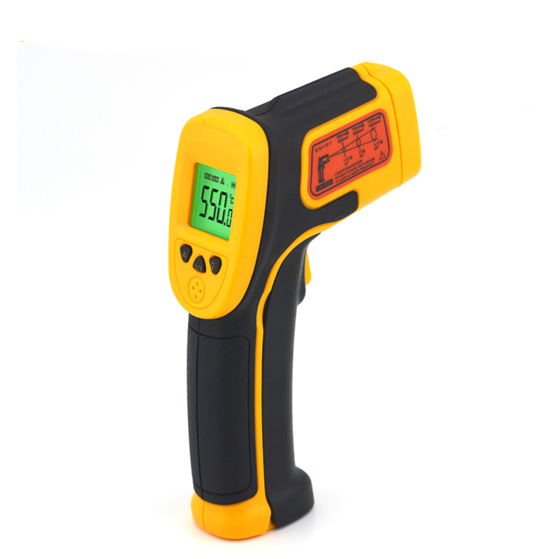 Handheld LCD Digital Laser Thermometer Temperature Infrared Non-Contact IR Gun