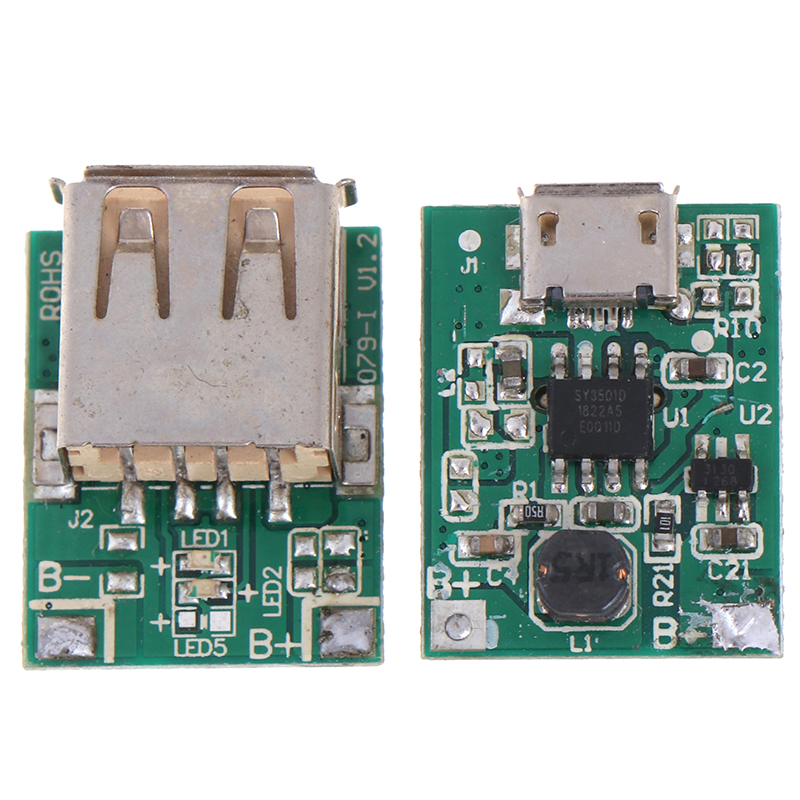 5V 1A Step-Up Power Module Li-Po Li-ion Lithium Battery Charging Protection Board Booster Converter Micro USB DIY Charger