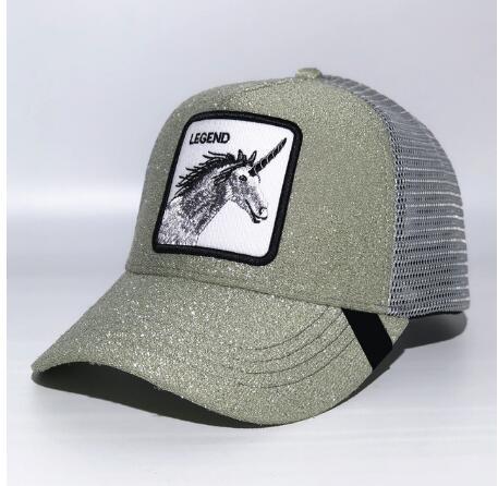 High quality Summer trucker cap mesh snapback hip hop hats for men embroidery baseball cap embroidery LEGEND