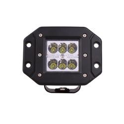Fabricantes que venden luces de coche modificadas de 18 w Cree LED luz de trabajo de camión motocicletas
