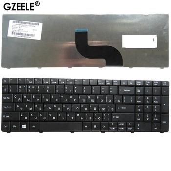 GZEELE nowy RU Laptop klawiatura do Acer Aspire E1-571G E1-531 E1-531G E1 521 531 571 E1-521 E1-571 E1-521G czarny rosyjski tanie i dobre opinie Dell Russian Standard