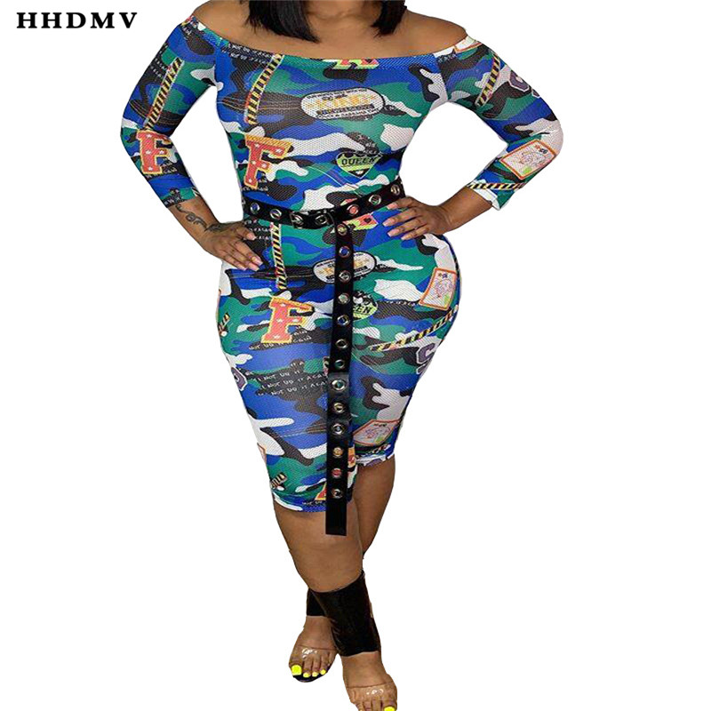 HHDMV OYX659 new fashion sexy tight locomotive jumpsuits long sleeve card shoulder printed colorful jumpsuits long pants