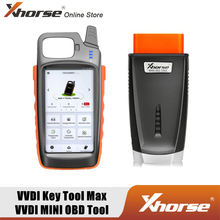 Xhorse VVDI Key Tool Max with VVDI MINI OBD Tool Programming Tool Support Generate Transponder and Remote