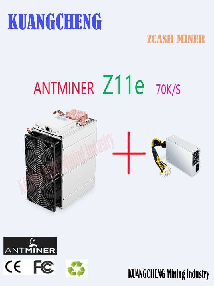 В наличии Antminer Z11e 70k Sol/s 1390W Asic Equihash ZCASH ZEC Шахтер лучше чем Antminer S9 S11 S15 S17 Z9 Z11 Innosilicon A9