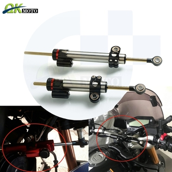 With Logo Motorcycle CNC Aluminum Stabilizer Damper Complete For YAMAHA MT10 MT09 MT07 MT 10 09 07 MT-07 Linear Safety Control