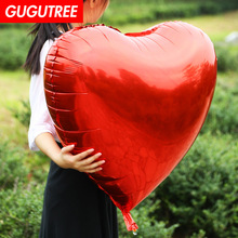 22 inch red love heart foil balloons Birthday Party Celebration decoration large globos HY-114