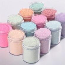 10g de purpurina ultrafina espejo mixto lentejuelas plateadas forma de punto mixto lentejuelas uñas artísticas pulido holográfico decoración puntas lentejuelas a granel