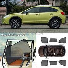 Car Side Windows Magnetic Sun Shade UV Protection Ray Blocking Mesh Visor For Subaru XV