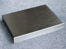 BZ4305 Pieno di Alluminio Preamplificatore chassis amplificatore di Potenza caso DAC Decoder recinzione di 430*55*306 millimetri