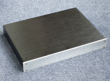 Bz4305 alumínio completo preamplificador chassis amplificador de potência caso dac decodificador gabinete 430*55*306mm