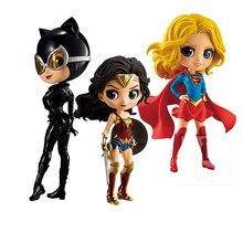 Dc comics q posket figura sexy mulher maravilha figura de super-herói qposket modelo brinquedos