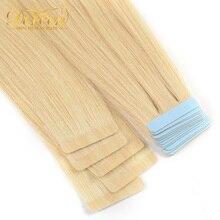 Лента Doreen для наращивания человеческих волос, 16-22 дюйма, 20 шт., 50 дюймов
