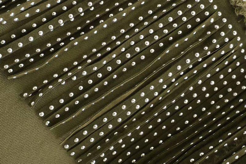 H48f85d7754a8442e891a692e468c4821N Vintage Stylish Fringe Beaded Oversized Jacket Coat Women 2019 Fashion Long Sleeve Frayed Trim Ladies Outerwear Chaqueta Mujer