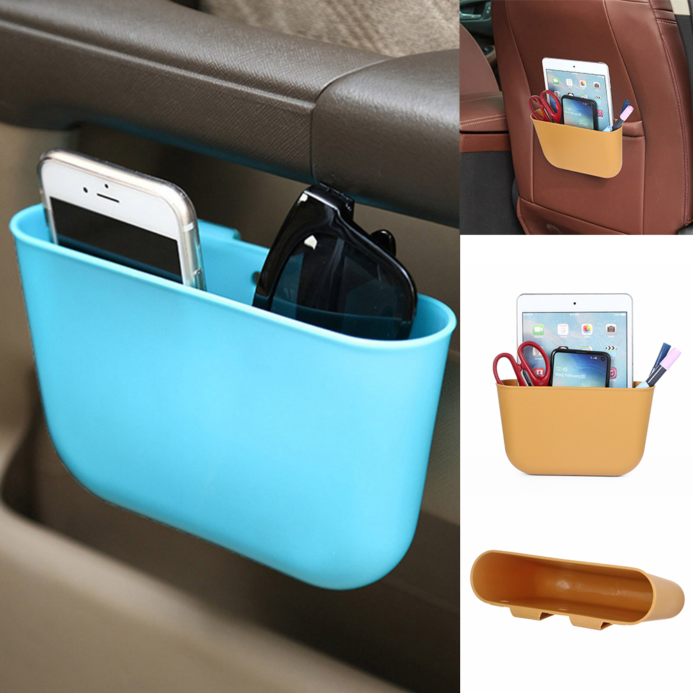 1x Auto Car Mini Hanging Garbage Trash Case Holder Storage Box Bin Rubbish Can