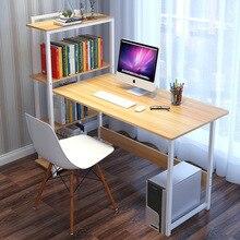 Настольный компьютерный стол Книжный Шкаф комбинированный домашний письменный стол простой стол для ноутбука