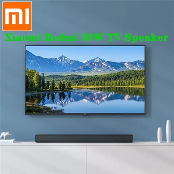 Xiaomi Redmi 30W TV Speaker Sound Bar Subwoofer Smart Bass Stereo Device Wireless Bluetooth AUX SPDIF Home Theater Projector
