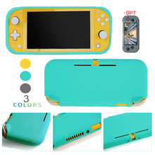 For Nintend Switch Lite Silicone Protection case For nintend switch mini shell Cover with screen protector film