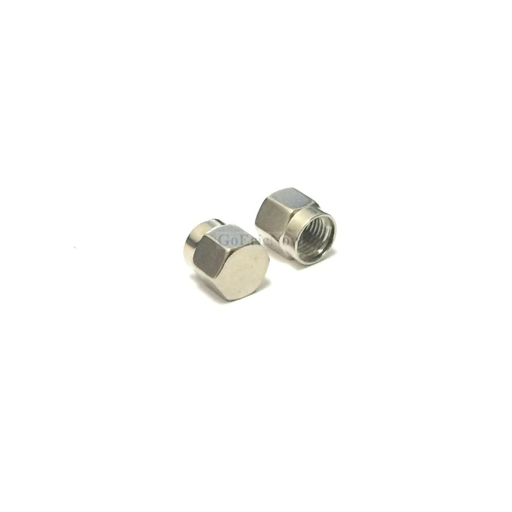 Image 4 - 20 pcs /lot RF Connector  SMA Dust cap without chain SMA metal protective cap Connector Plug-in Connectors from Lights & Lighting