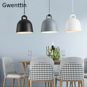 Image 4 - נורדי מודרני חדר אוכל תליון אור דנמרק נורמן בל Hanglamp מסעדת מטבח אור מתקן בית לופט דקור Luminaire
