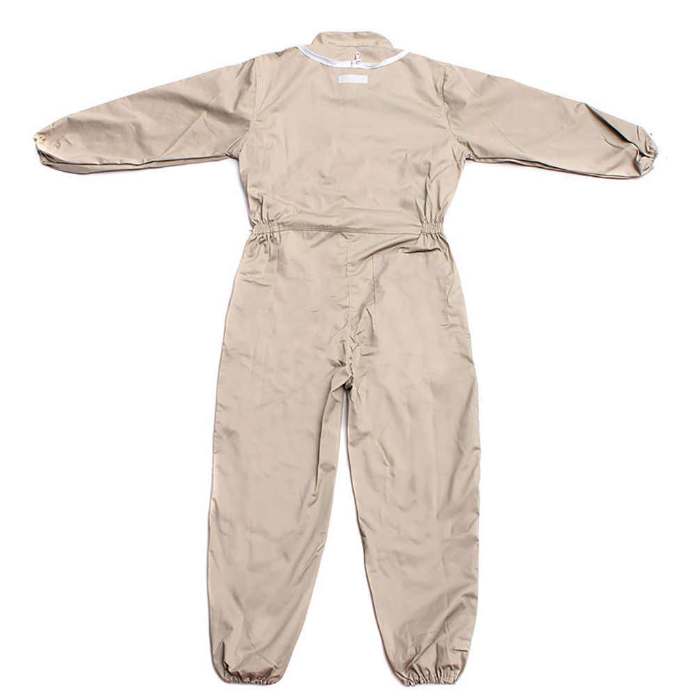 Men Clothing Front Zipper Garden Full Body Thickened Cotton Cloth Beekeeping Suit Bee Equipment Jacket Home Protective Foldable