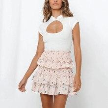 Sexi Women Summer Short Sleeve T-Shirt Hollow Out Sleeveless White Women's T-shirt Casual Tunic Shirt Tops Moda Mujer 2020 Ropa