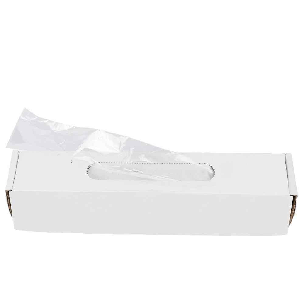 500 Cái/hộp Dùng Một Lần Nhựa Nha Khoa Tay Cầm Tay Nữ Tay Bao Nha Khoa Phòng Tiếp Liệu Làm Trắng Răng Nha Khoa Thiết Bị