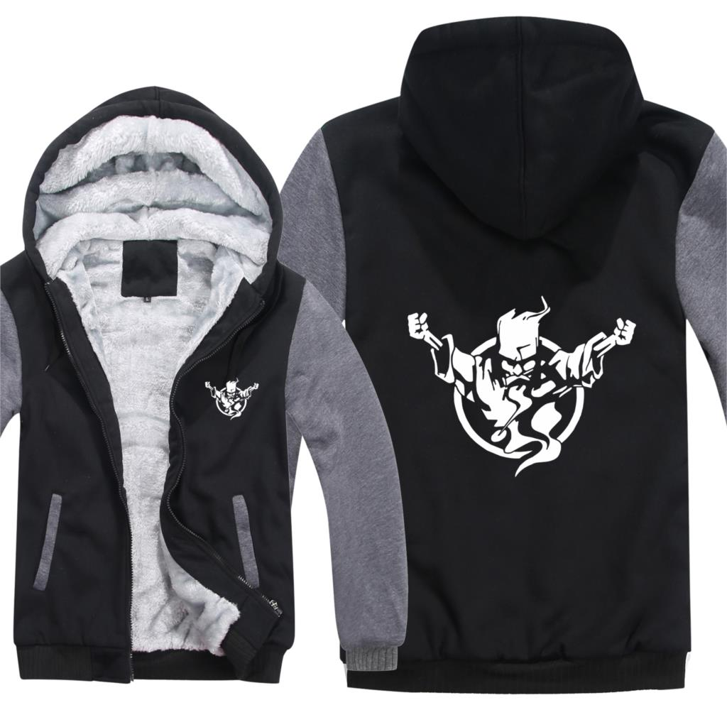Winter Thunderdome Hoodies Men Fashion Coat Pullover Warmer Jacket Hardcore Thunderdome Sweatshirts Mans HS-111