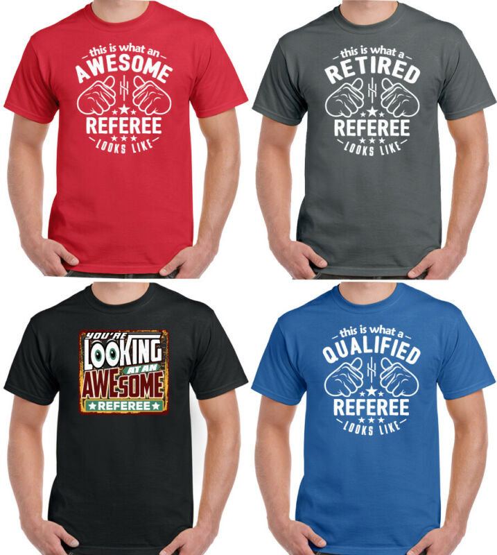 You/'re Looking Awesome Referee Mens Funny Hoodie Umpire Football Ruby Sport Top