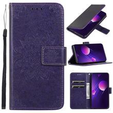 Embossed Leather Case For Huawei P 20 30 Lite Bracket Card Slot Cover Nova 5i 3E 4E Flip Pro