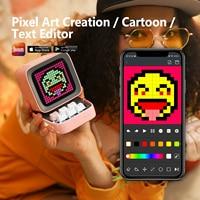 Divoom Ditoo Retro Pixel Art Bluetooth Portable Speaker Alarm Clock DIY LED Display Board, New Year Gift Home Light Decoration 2