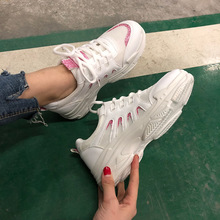 New Spring Fashion Lady Casual White Shoes Women Sneaker Black Leisure Thick Soled Shoes Flats Cross-tied Lace Up Soft CZ-29 mycolen 2018 new arrival fashion leisure white shoes men sneaker shoes lace up cross strap shoe breathable calzado hombre