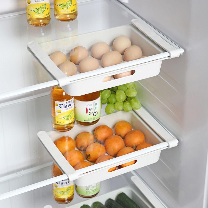 Fridge Table Saver Storage Box Fruit Food Rack Holder Kitchen Organizer 4 Colors