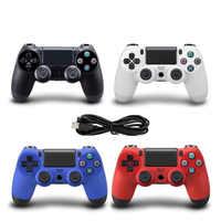 USB Wired Controller für PS4 Gamepad für Play Station 4 Controller für Dualshock 4 Gamepad für PS4 Konsole Mit Doppel vibration