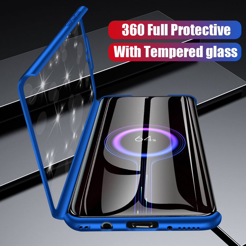 luxury 360 full protective <font><b>cover</b></font> <font><b>case</b></font> for <font><b>huawei</b></font> <font><b>y9</b></font> y7 prime y6 pro <font><b>2019</b></font> <font><b>case</b></font> for <font><b>huawei</b></font> y6 y7 2018 P smart Z y5 2017 phone <font><b>case</b></font> image