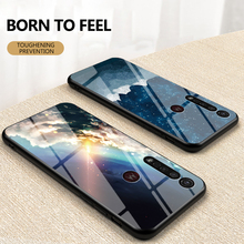 For MOTOROLA MOTO G8 Plus G6 G5 E5 E6 G5S Plus G8 G6 E6 Play Case Starry pattern Tempered Glass Phone Cover For MOTO one zoom for motorola one fusion plus case shockproof armor rubber hard pc case for moto one fusion plus cover for moto one fusion plus