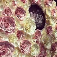 Riesen Papier Blumen Große Rose Hochzeit Blume Wand Kulissen Dekor Kindergarten Wand Dekor Fleur Artificielle Mariage Boda Rosa Flore