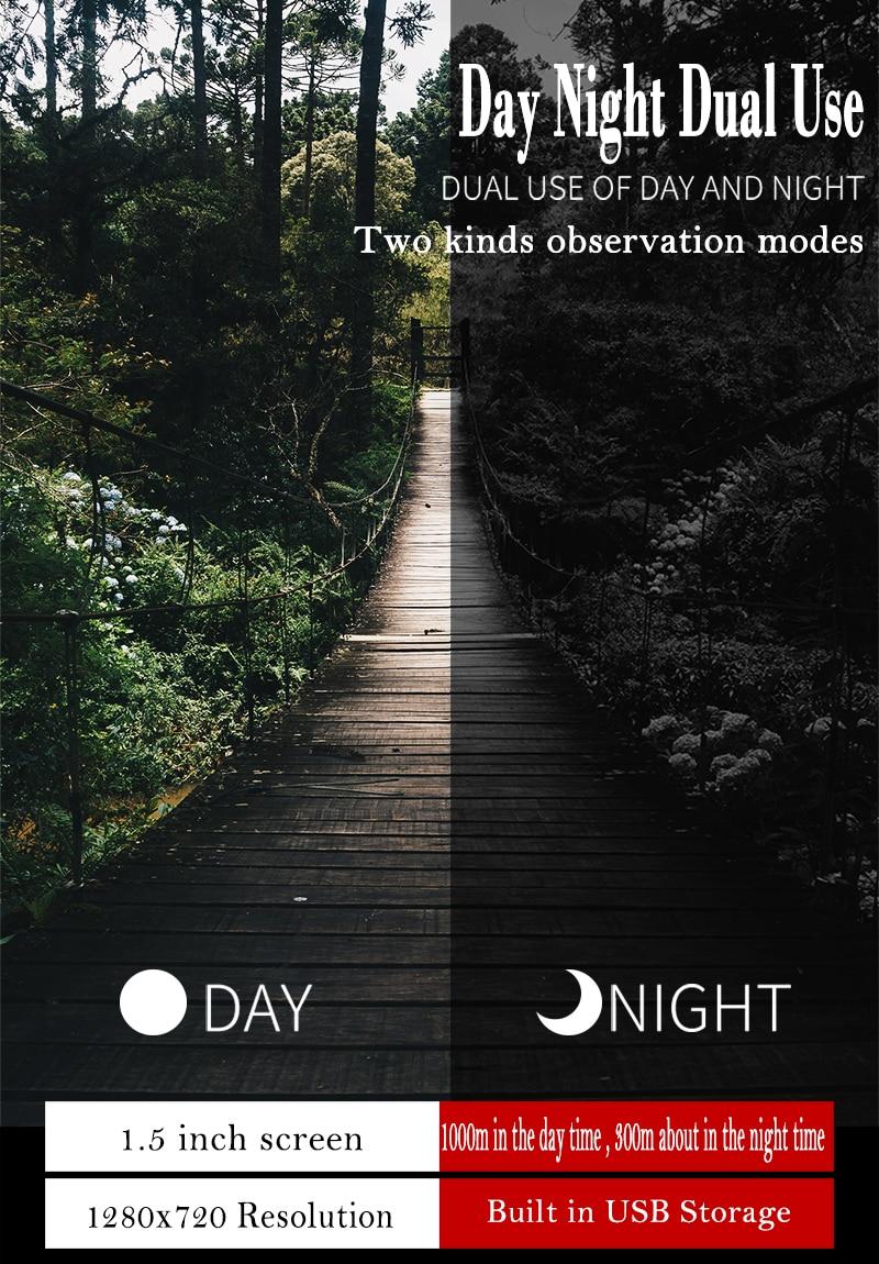 Wifi conexão ir visão noturna digital-dispositivo 3.5-10.5x