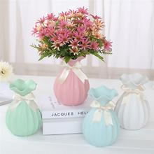 European-style Vases Home Decorations Anti-ceramic Vase Container Household Wedding Decoration for Hydroponic Plants Creative недорого
