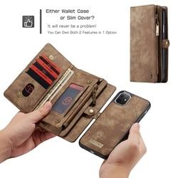 Funda de lujo para iPhone XS X 11 Pro Max, Funda de cuero con tapa, funda trasera, funda magnética para iPhone XR, Coque, Capa, Capa