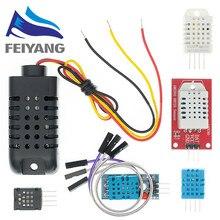 Temperatura e Umidade Sensor Digital DHT11/DHT12 DHT22 AM2302 AM2301 AM2320 sensor e módulo Para Arduino DIY eletrônica