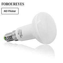 Ampoule led sans scintillement, Ampoule Led, lampe cfl, R39, R50, R63, R80 parapluie à led, AC 85 265V, E27, E14