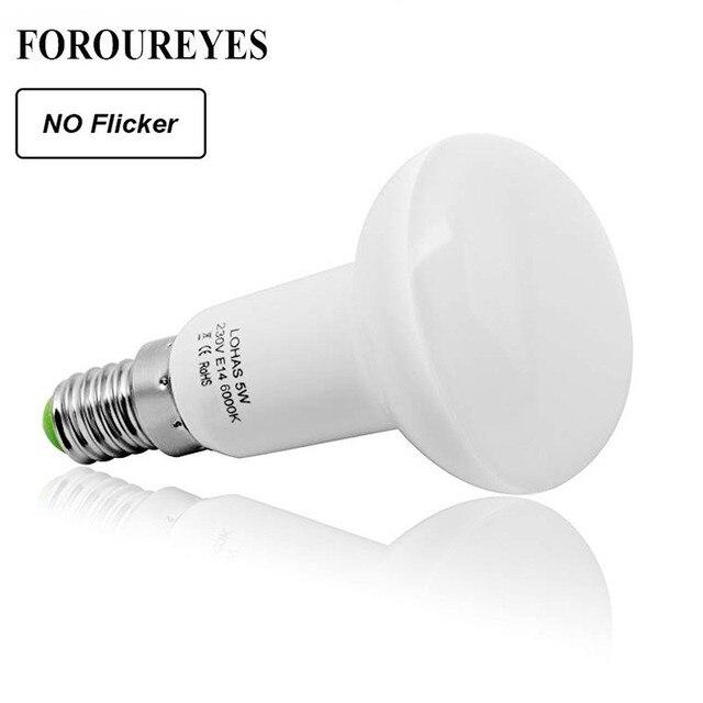 No Flicker R39 R50 R63 R80 led Umbrella Bulb AC 85 265V E27 E14 Led Bulb Bombillas Lamp cfl Ampoule Spotlight Light Lampada