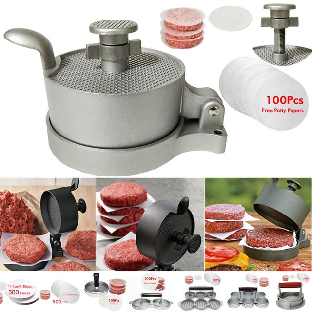 Aluminum Hamburger Press Tool  1