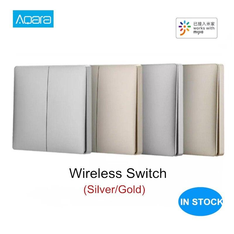 2019 NEW Aqara Wireless Switch Zigbee Smart Light Switch Remote Control WiFi Wireless Key Work With Mijia Mi Home APP