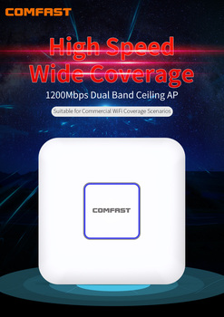 1200Mbps WiFi Ceiling Wireless AP 802.11b/g/n/ac Dual Band 5Ghz Enterprise Wifi System AP 48V POE OPEN DDWRT Access Point AP new original ap 114br a plc 100 240vac npn pnp 8 point relay 6 point ap