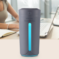 Air humidifier eliminate static electricity clean air Care for skin Nano spray technology Mute design 7 color lights car office|Humidifiers|Home Appliances -
